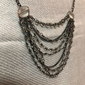 Jewelry - Antiqued silver finish necklace